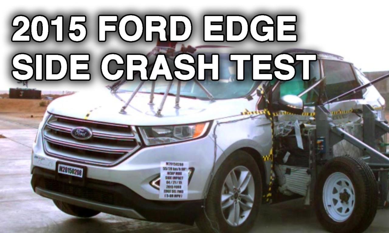 Ford Edge Lincoln Mkx Crash Test Side