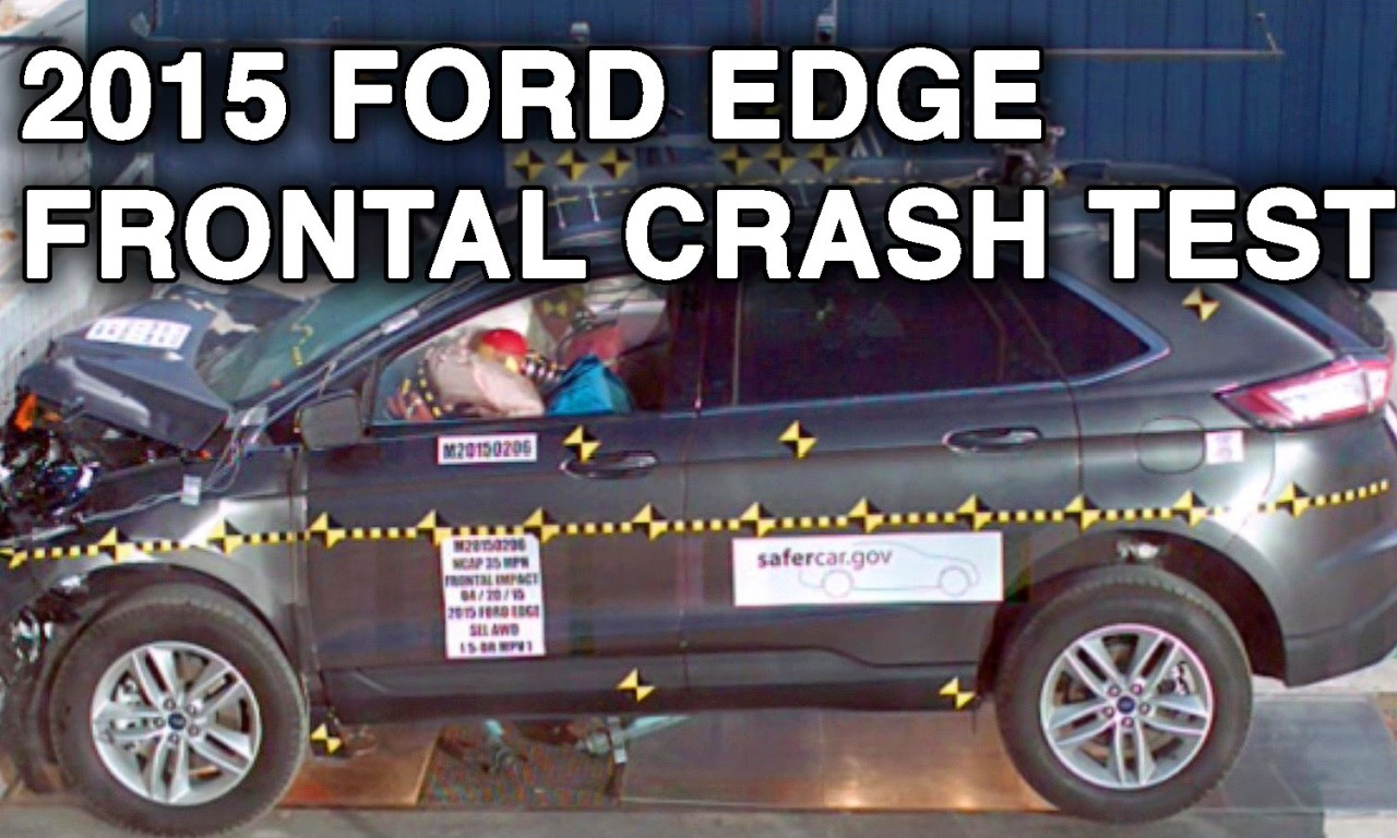 Ford Edge Lincoln Mkx Crash Test Frontal