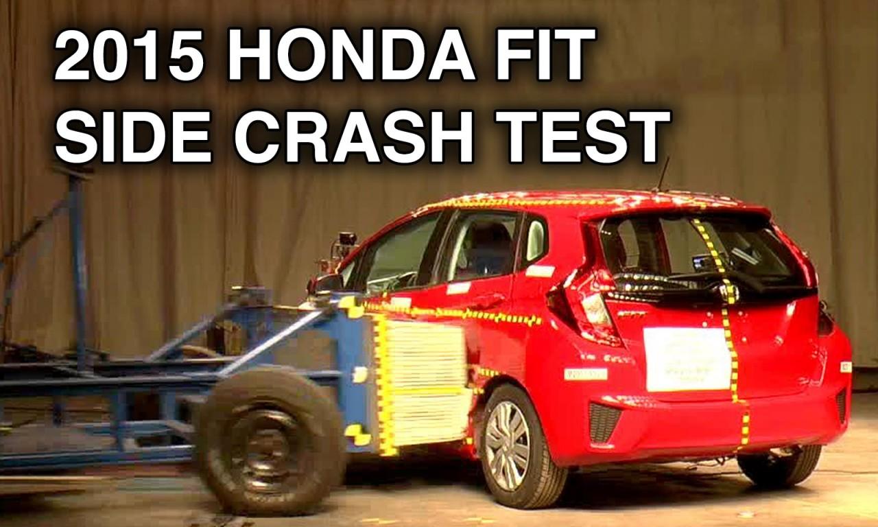 2015 Honda Fit / Jazz   Side Crash Test