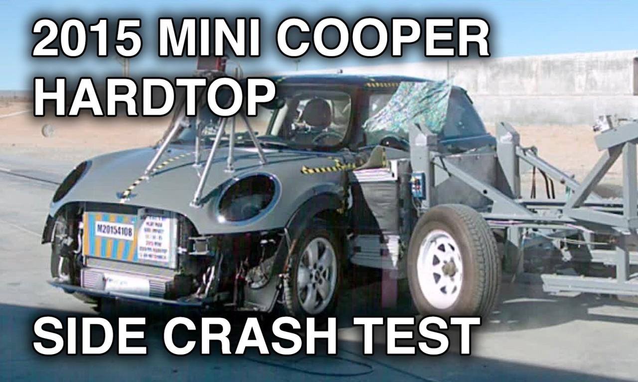 2015 Mini Cooper Hardtop Crash Test Side Crashnet1