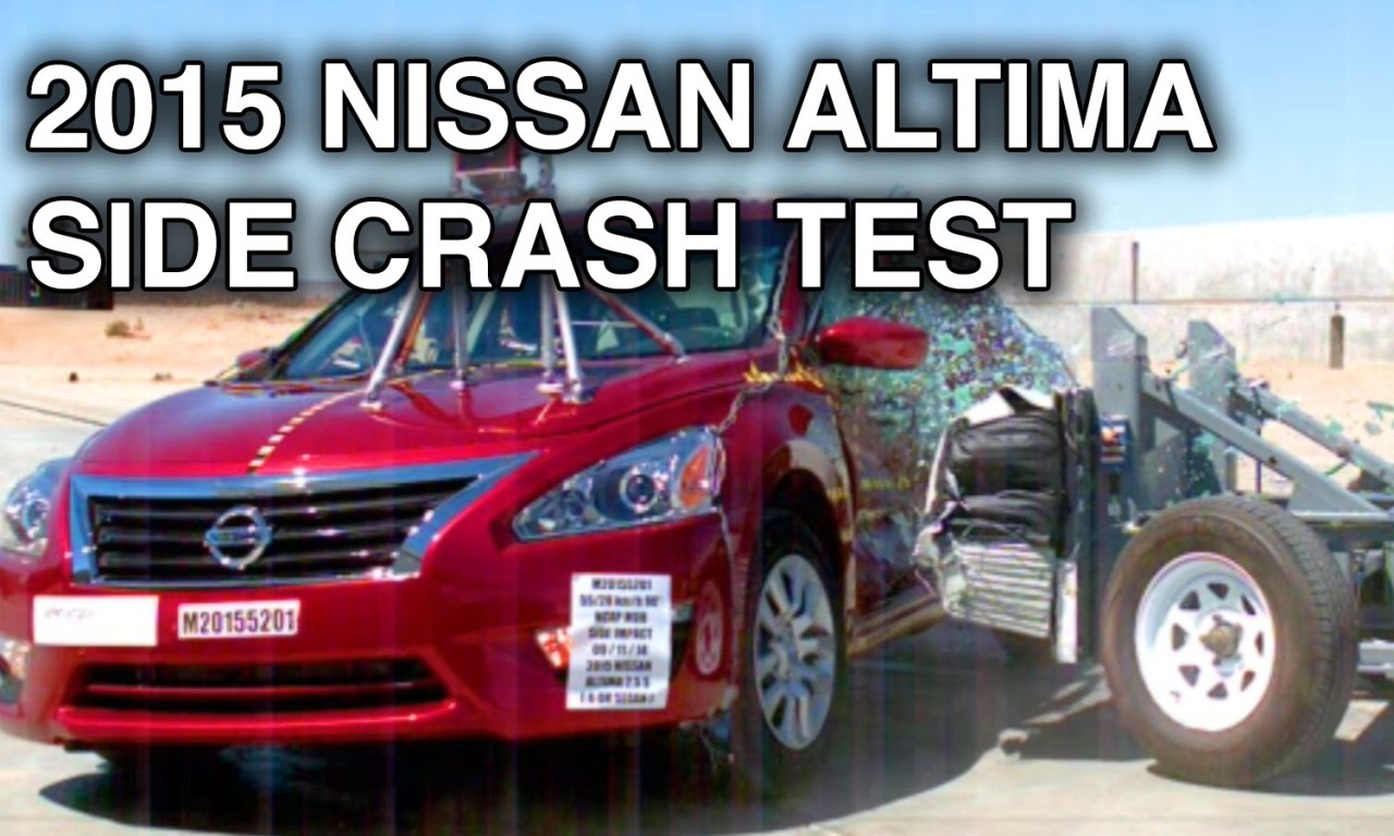 2017 Nissan Altima Crash Test Side